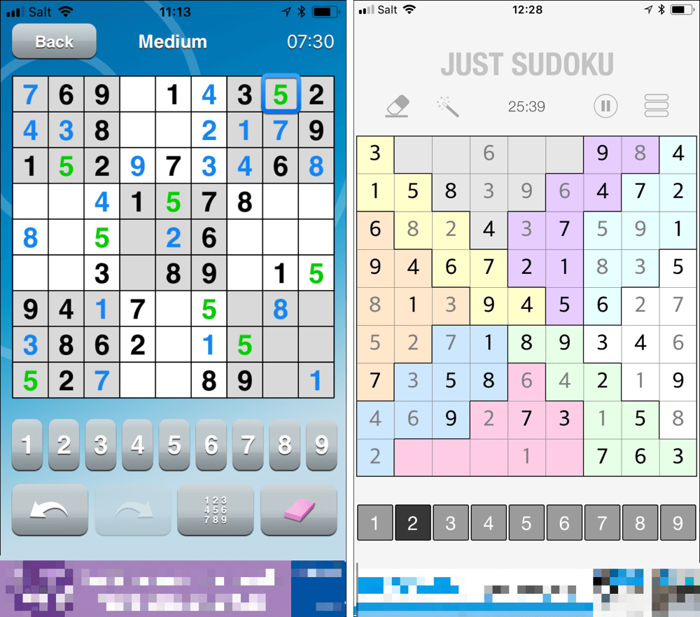 Old Sudoku wine in new app bottles – Clickomania