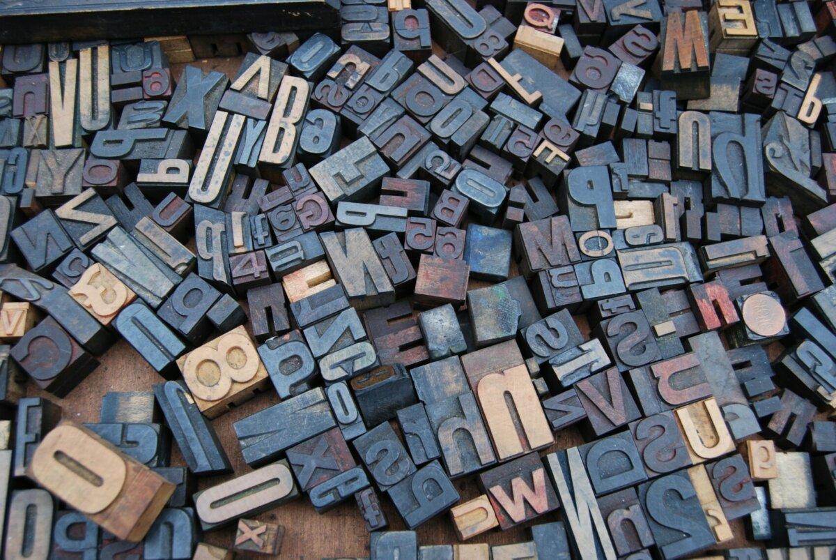 Typografische Selbsthilfe auf Grünschnabel-Niveau