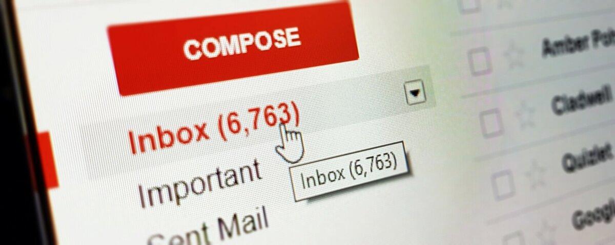 Gmail auf die Finger schauen