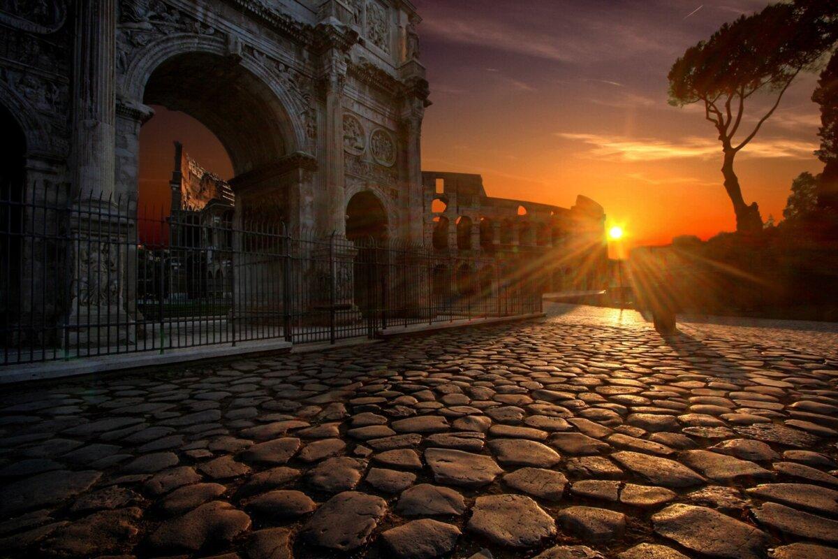 Mit dem Ochsenkarren nach Rom